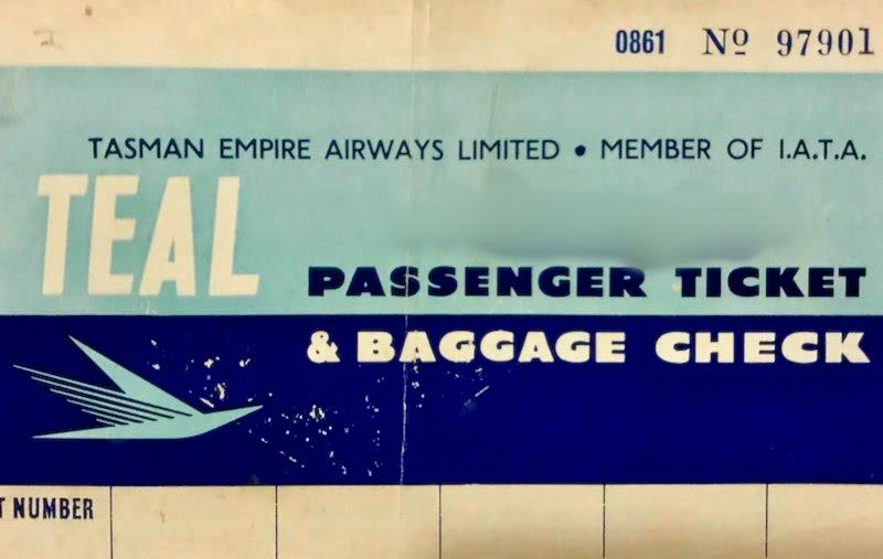 TEAL ticket jacket 1956