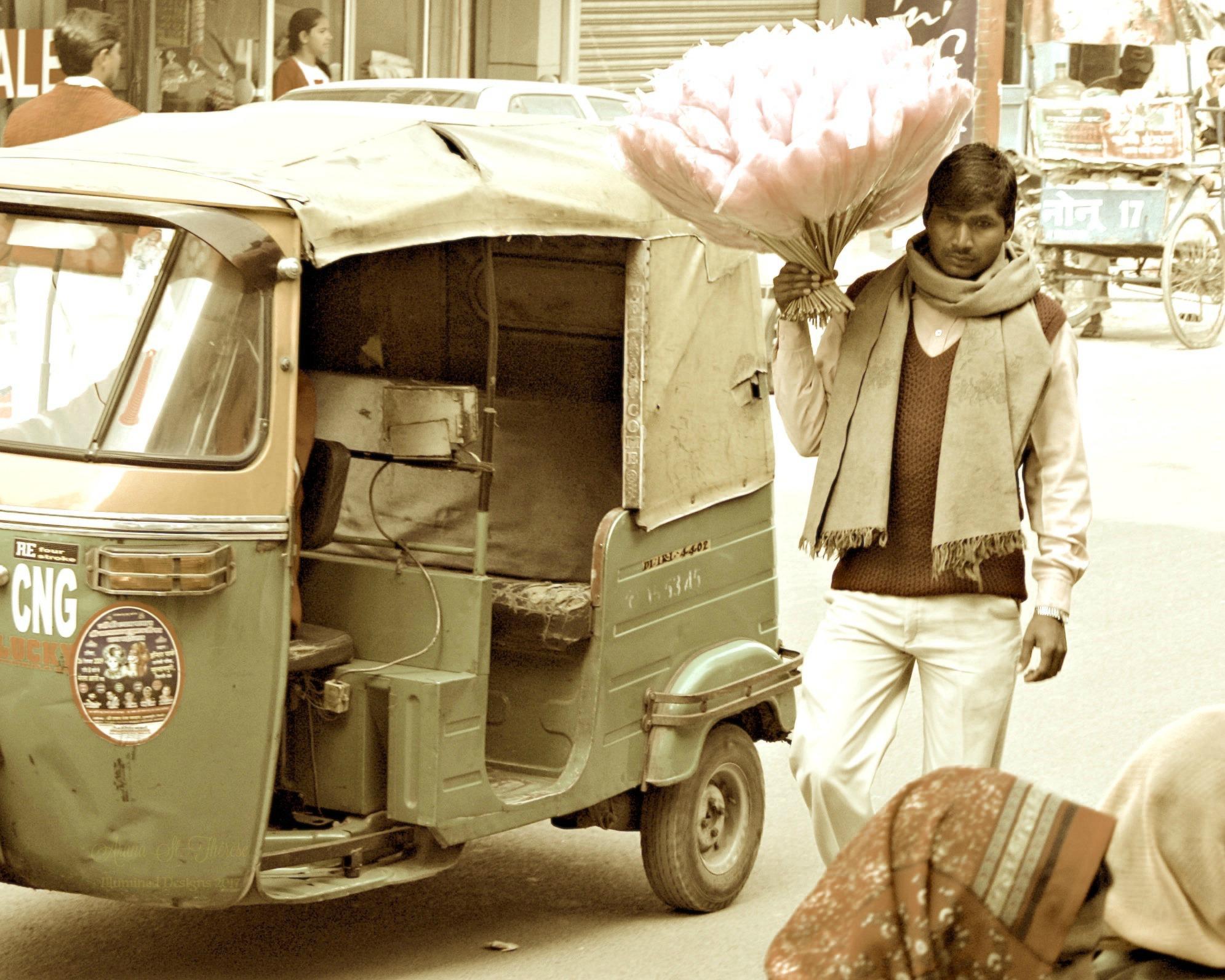 C - Delhi street vending