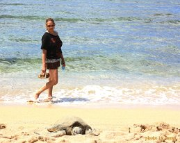 mom & the turtle.JPG